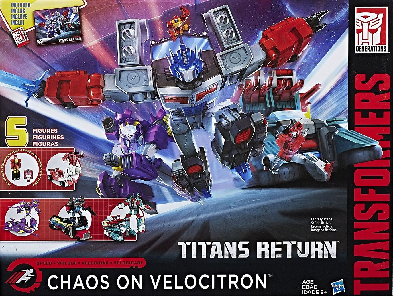 Chaos on Velocitron